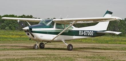 Прогулочный самолет Cessna 182